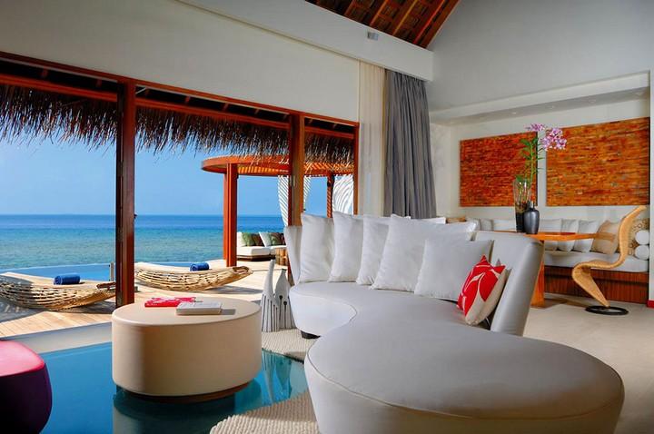 Отель W Retreat & Spa — райский уголок на Мальдивах, фото с Мальдив (9)