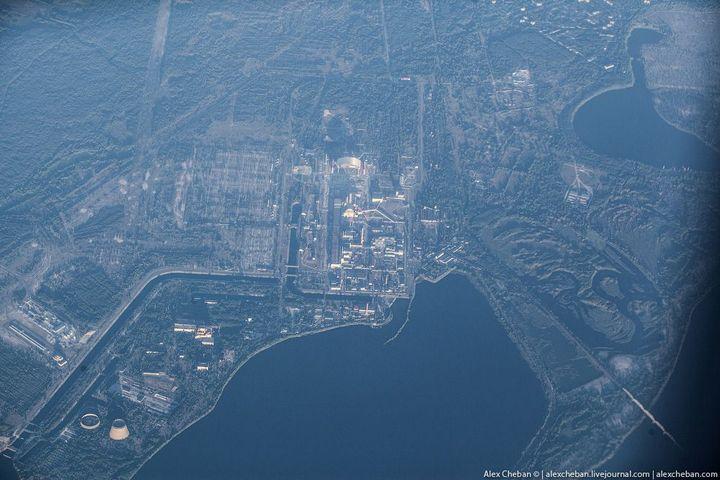 Фото Чернобыля сверху (10)