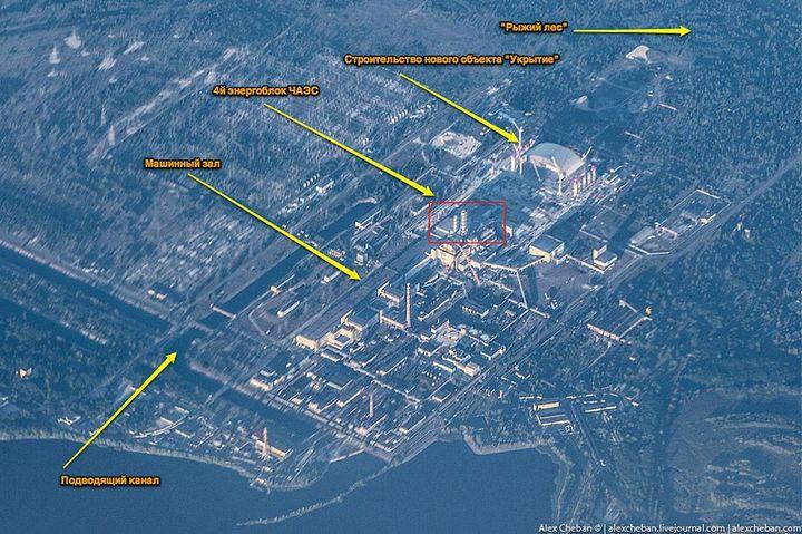Фото Чернобыля сверху (11)
