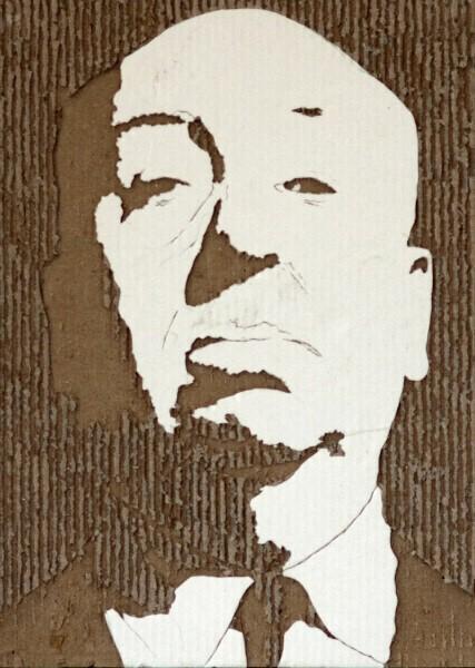 Портреты на гофрированном картоне необычные картины на гофротаре (1)