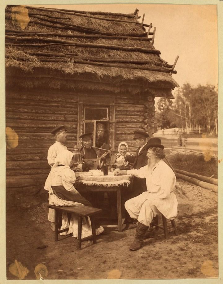 Старые ретро фотографии России, фото русских деревень и крестьян (12)