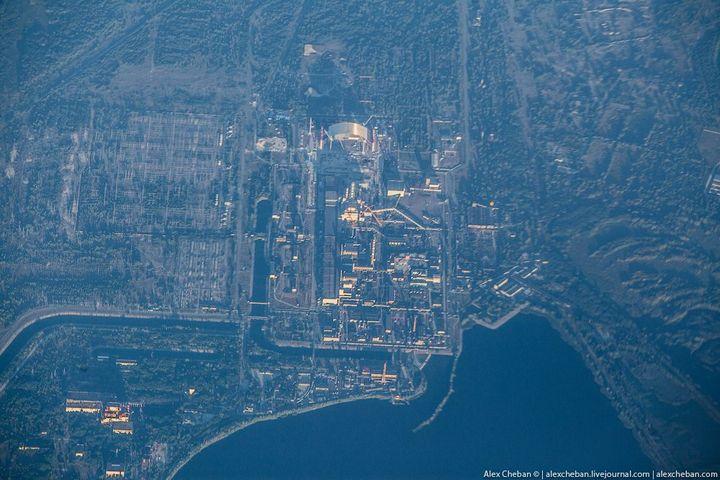 Фото Чернобыля сверху (12)