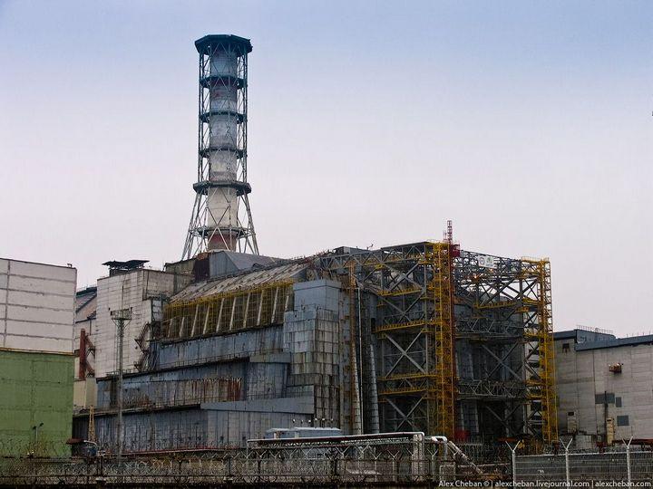 Фото Чернобыля сверху (13)