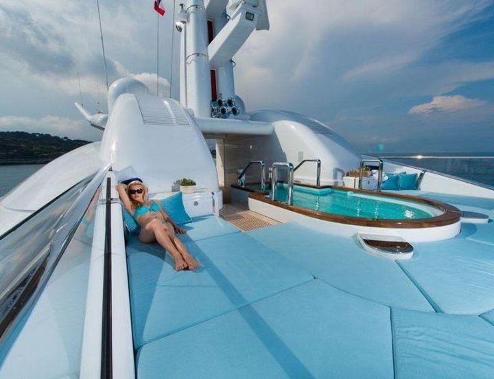 Самые дорогие и роскошные яхты в мире. Красивая яхта (13)