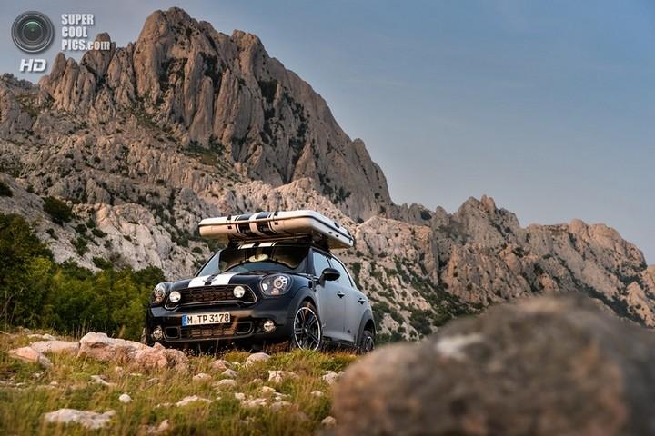 новый MINI Cooper S Countryman ALL4 Camp дом на колесах (14)