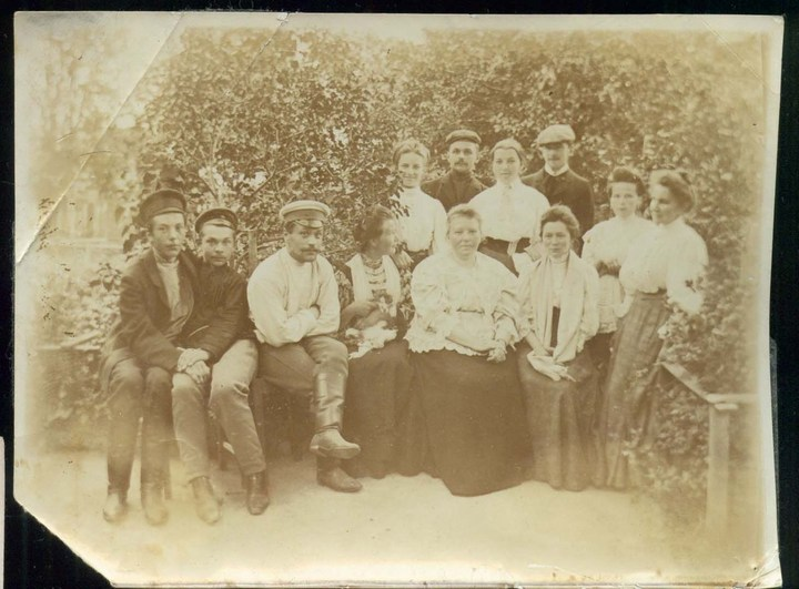 Старые ретро фотографии России, фото русских деревень и крестьян (15)