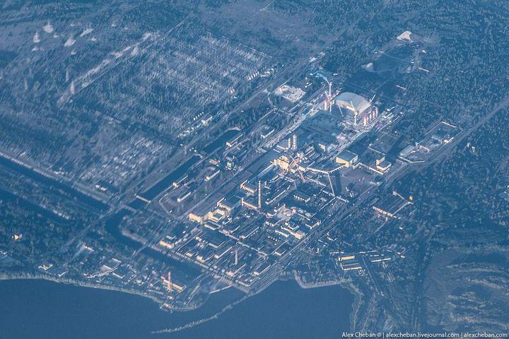 Фото Чернобыля сверху (15)
