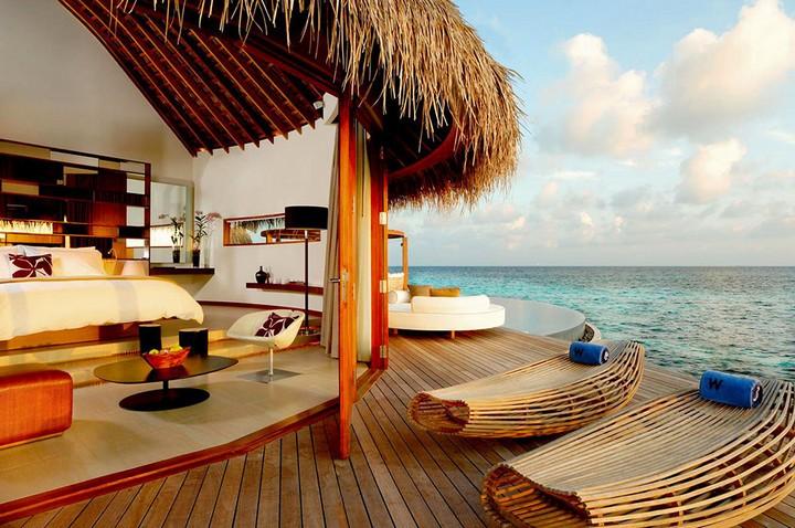 Отель W Retreat & Spa — райский уголок на Мальдивах, фото с Мальдив (15)