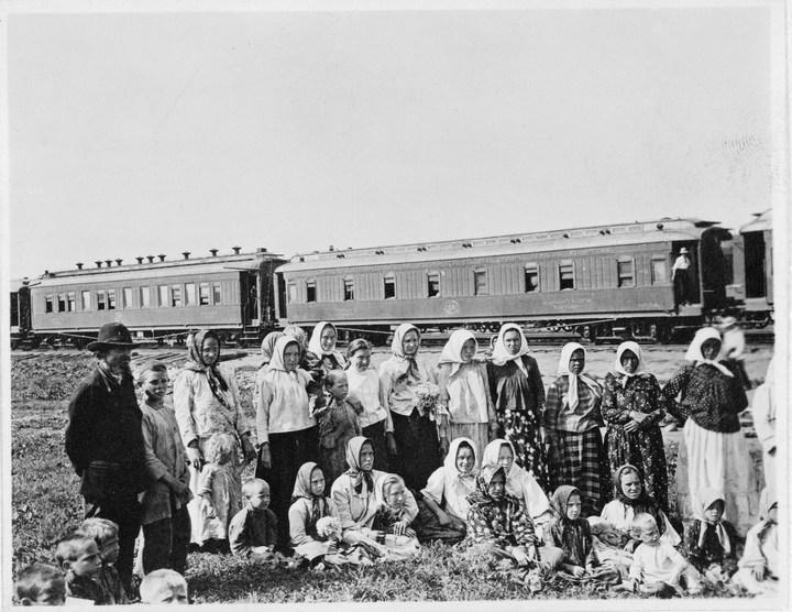 Старые ретро фотографии России, фото русских деревень и крестьян (16)