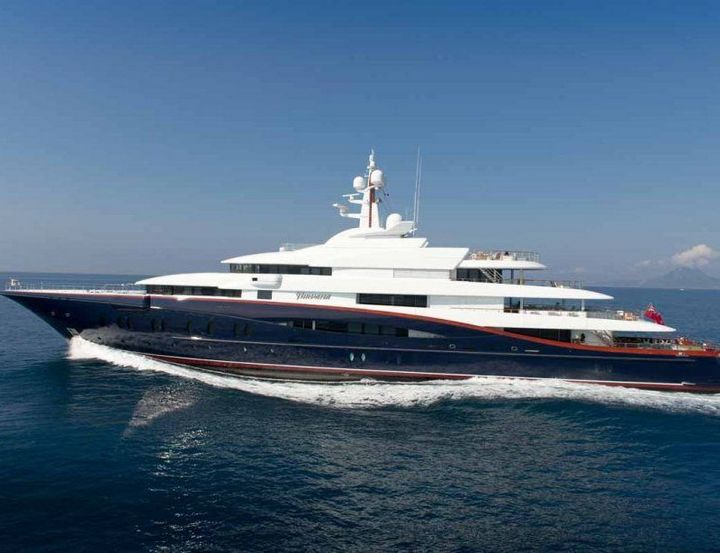 Самые дорогие и роскошные яхты в мире. Красивая яхта (16)