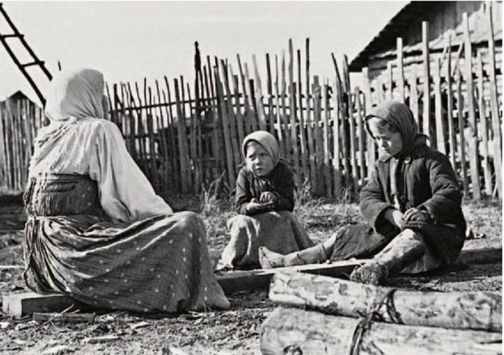 Старые ретро фотографии России, фото русских деревень и крестьян (17)