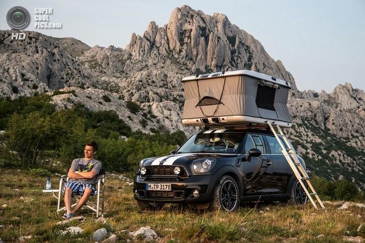 новый MINI Cooper S Countryman ALL4 Camp дом на колесах (18)