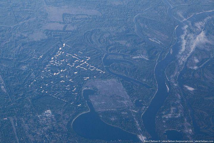 Фото Чернобыля сверху (19)