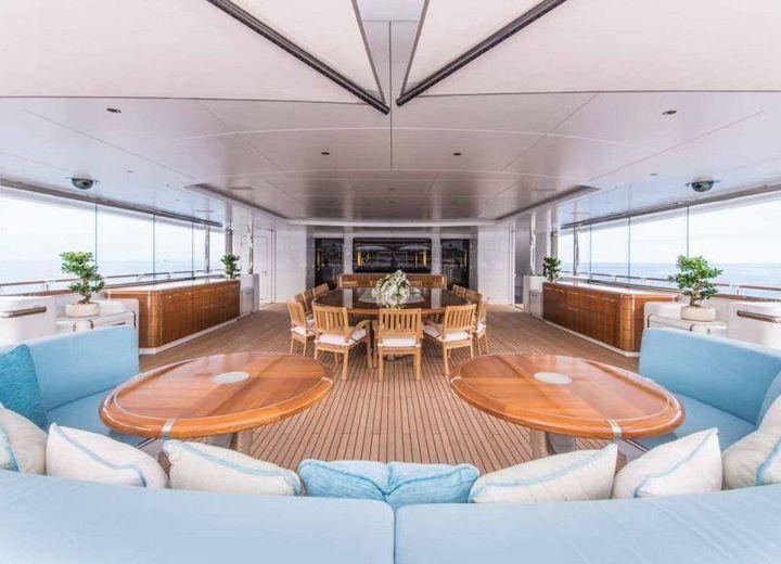 Самые дорогие и роскошные яхты в мире. Красивая яхта (20)