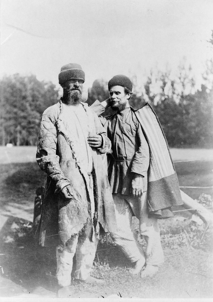 Старые ретро фотографии России, фото русских деревень и крестьян (22)