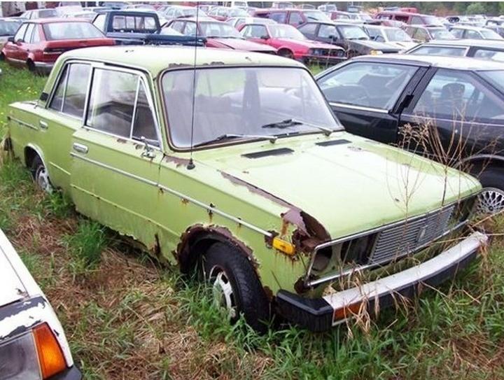 Русские машины на улицах Америки и Канады (22)