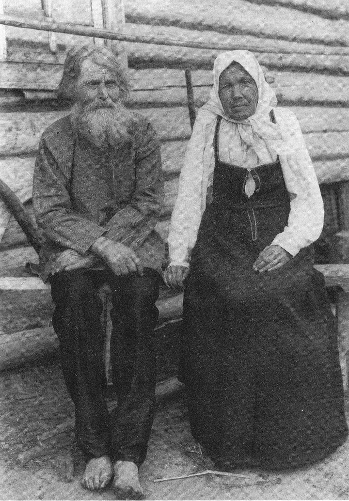 Старые ретро фотографии России, фото русских деревень и крестьян (23)