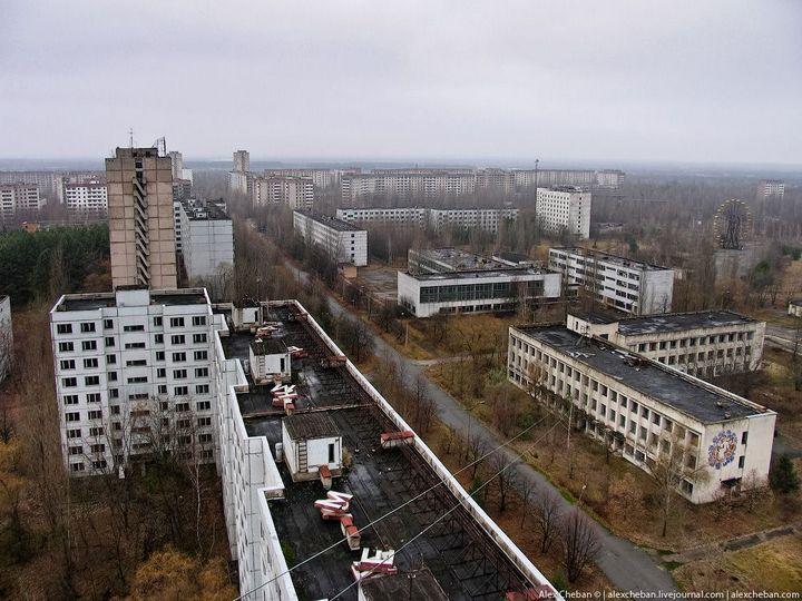 Фото Чернобыля сверху (23)
