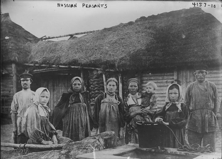 Старые ретро фотографии России, фото русских деревень и крестьян (24)