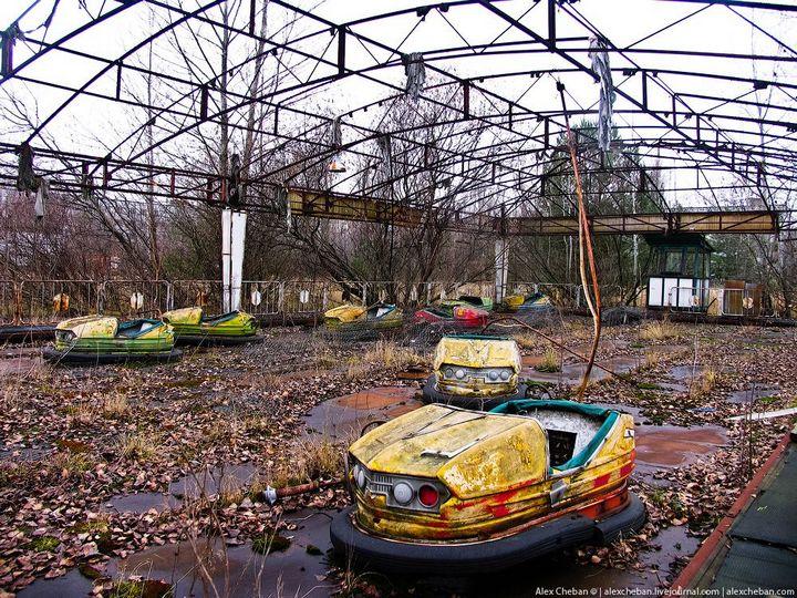 Фото Чернобыля сверху (25)