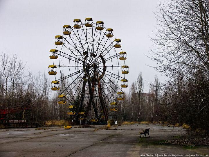 Фото Чернобыля сверху (26)