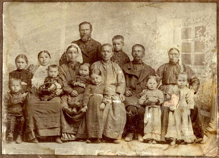 Старые ретро фотографии России, фото русских деревень и крестьян (27)