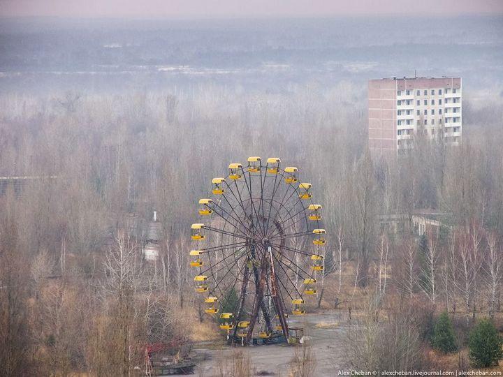 Фото Чернобыля сверху (27)