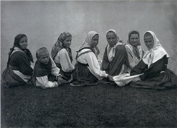 Старые ретро фотографии России, фото русских деревень и крестьян (32)