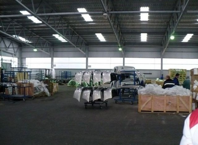 Фото с завода по сборке автомобилей (5)