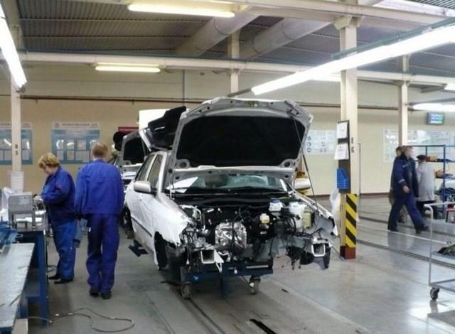 Фото с завода по сборке автомобилей (11)