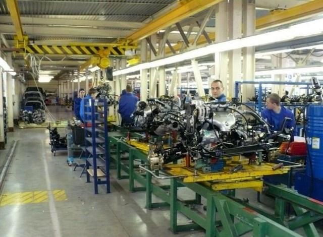 Фото с завода по сборке автомобилей (26)