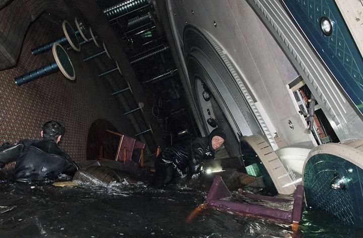 Операция по подъему лайнера Costa Concordia (11)