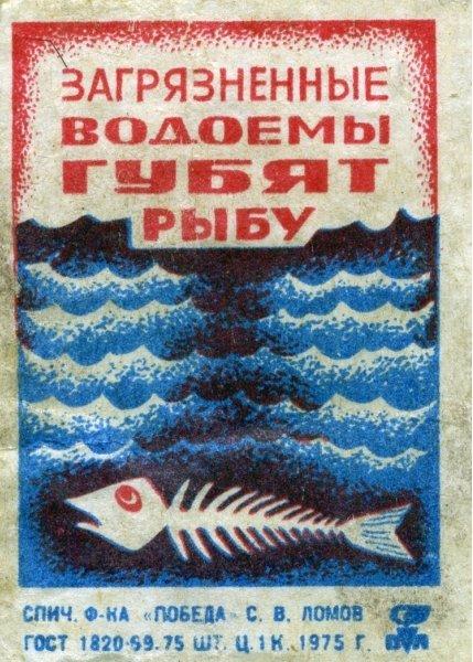 Коллекция этикеток со спичечных коробков в СССР (31)