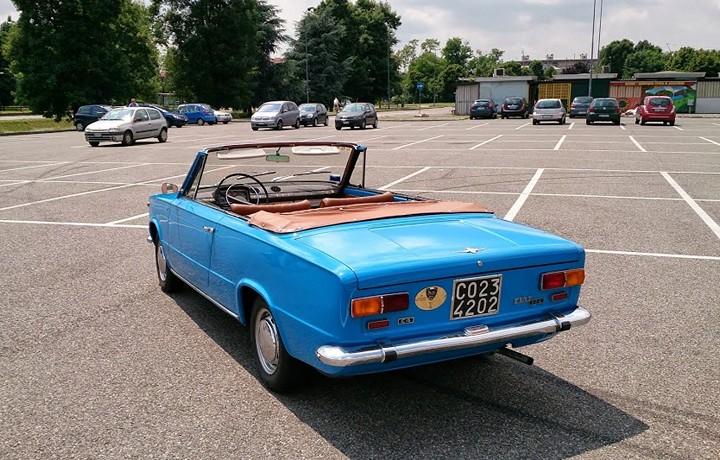 Уникальный Fiat 124-С4 кабриолет, ВАЗ 2101 кабриолет. как сделать (2)