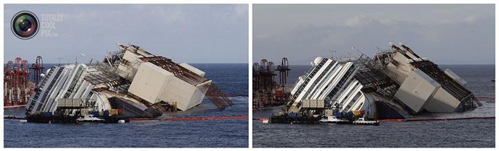 Операция по подъему лайнера Costa Concordia (41)