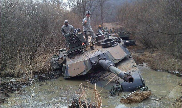 Как застревают танки. Застрявшие танки, фото и видео (3)