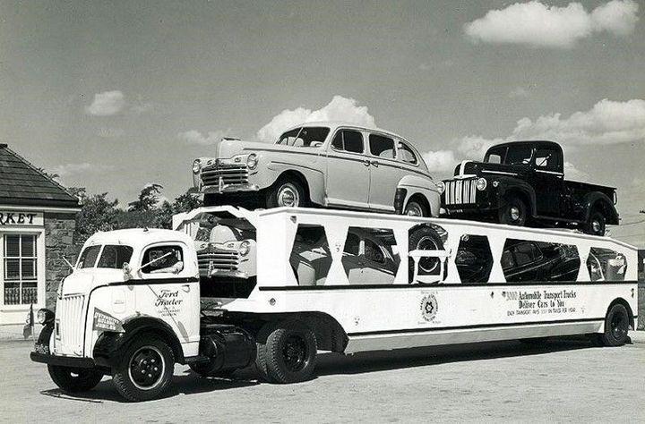 Фото старых американских грузовиков (18)