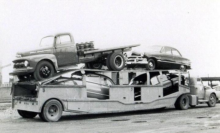 Фото старых американских грузовиков (17)