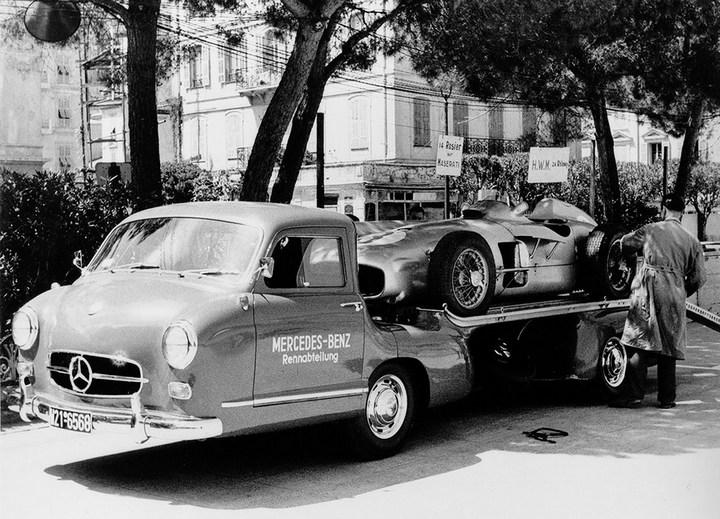 история уникального Mercedes-Benz Renntransporter (2)