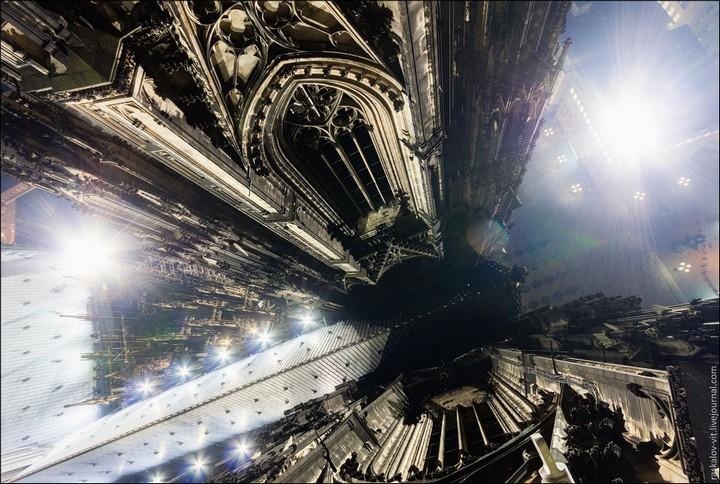 Руферы, как залезть на высокое здание в Европе (2)