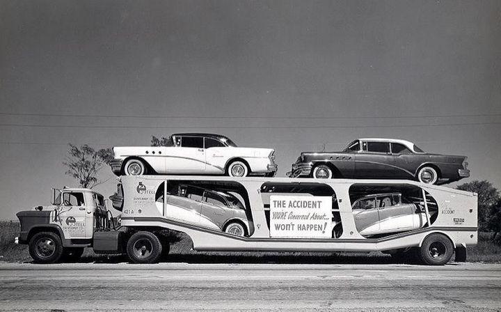 Фото старых американских грузовиков (16)