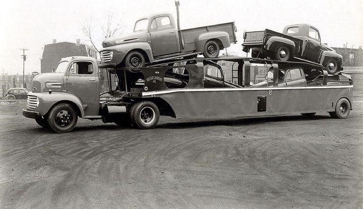Фото старых американских грузовиков (15)