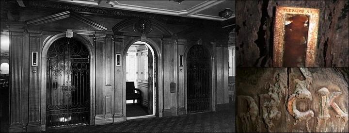 "Фотографии затонувшего ""Титаника"", фото на дне, до и после (4)"