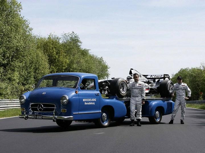 история уникального Mercedes-Benz Renntransporter (5)