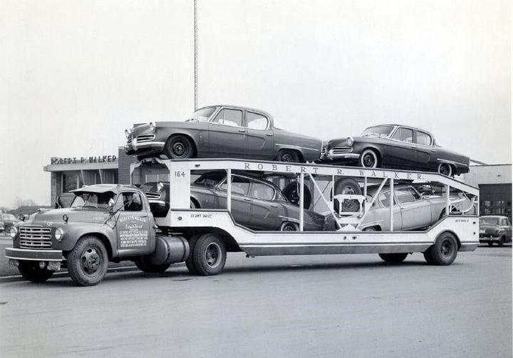Фото старых американских грузовиков (13)