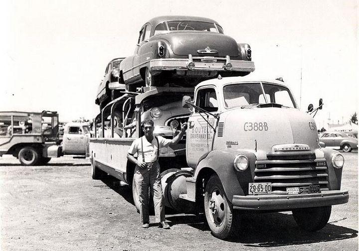 Фото старых американских грузовиков (8)