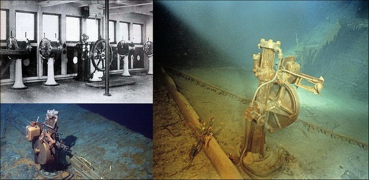 "Фотографии затонувшего ""Титаника"", фото на дне, до и после (12)"