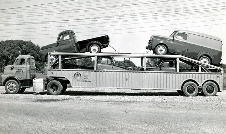 Фото старых американских грузовиков (6)