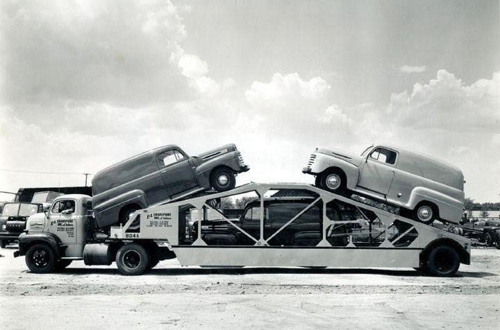 Фото старых американских грузовиков (4)