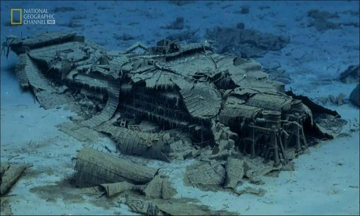 "Фотографии затонувшего ""Титаника"", фото на дне, до и после (26)"
